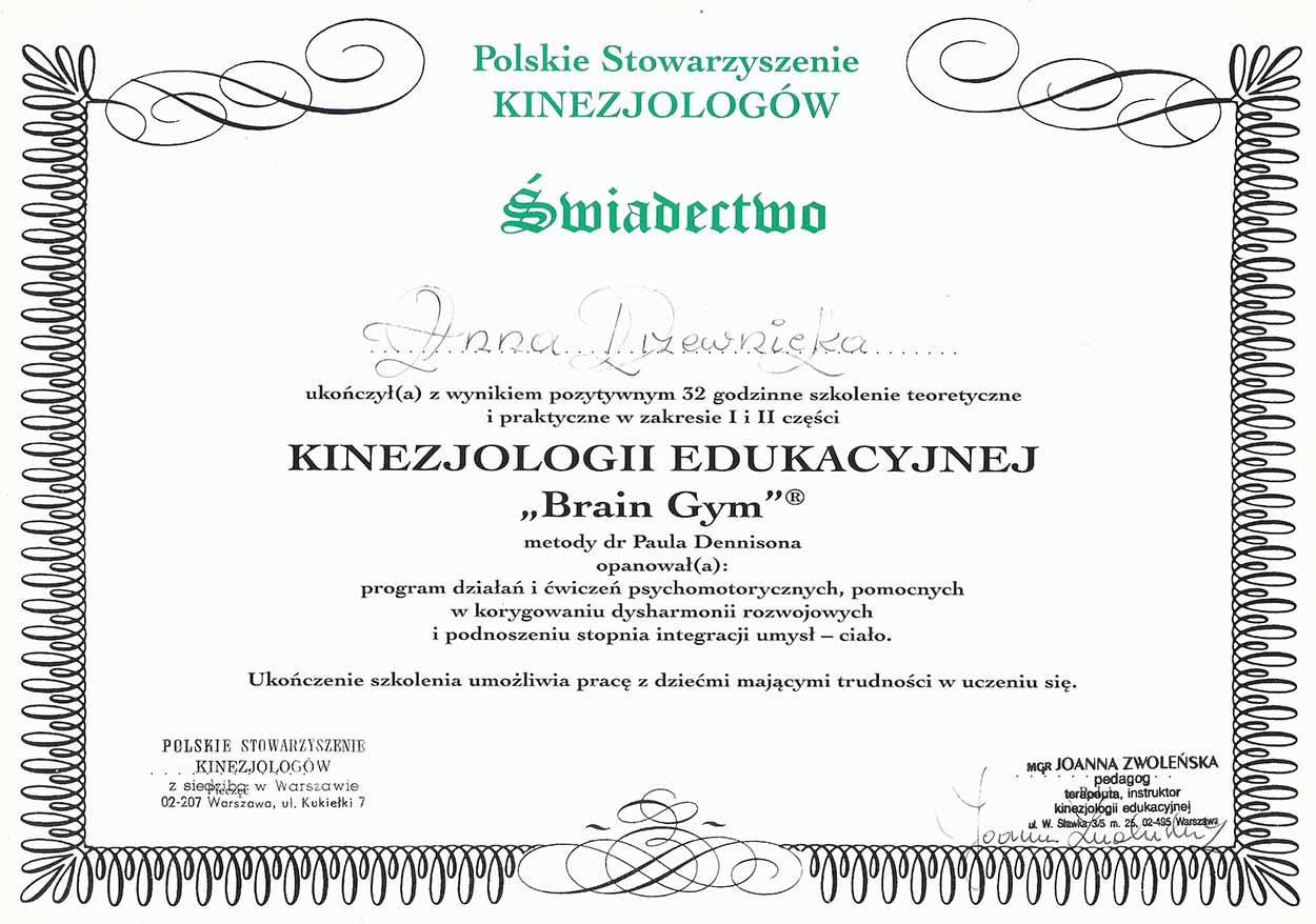Anna Drzewicka - Edukator Szkoła Szybkiego Czytania i Technik Uczenia Się w Zamościu